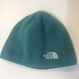 [The North Face] toboggan hat winter warm blue